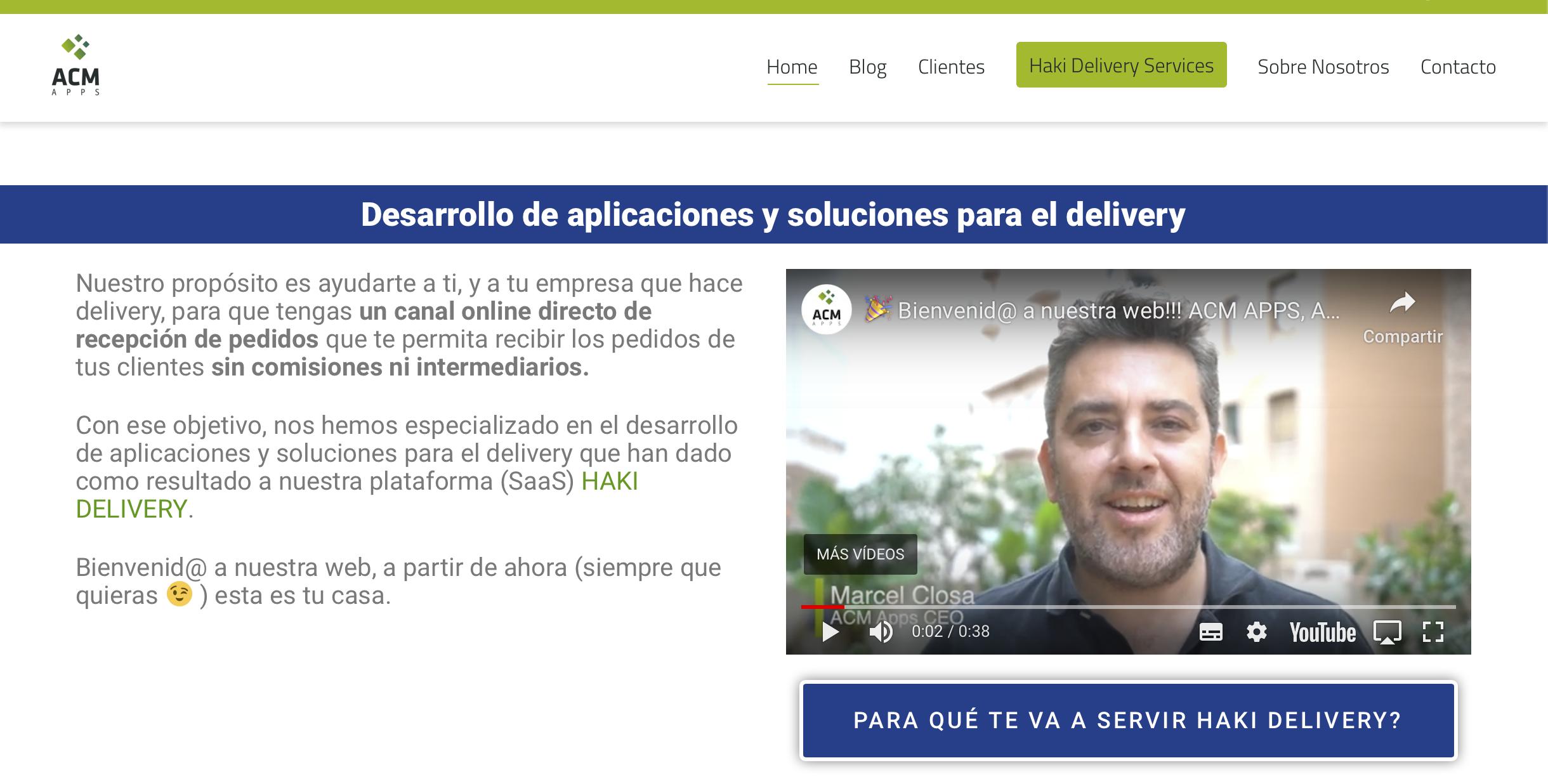Bàrbara Izquierdo + ACM Apps